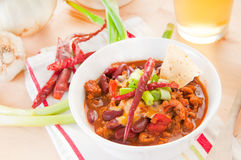 Chili for meal Stock Photos