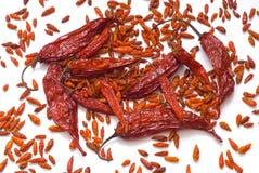 chili mieszanki pieprz Fotografia Stock