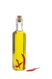 chili natchnąca nafciana oliwka Fotografia Royalty Free