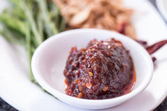Chili for Oyster Be fresh Royalty Free Stock Photography
