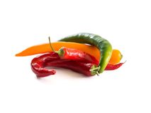 Chili papers Stock Images