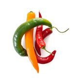 Chili papers Royalty Free Stock Photos