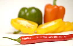 Chili paprika Stock Photos
