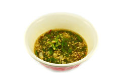 Chili Paste (Nam Prik) Stock Photo