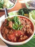 Chili Paste tailandés septentrional Fotografía de archivo libre de regalías