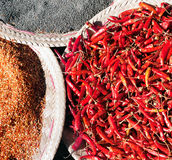 Chili pepper background Royalty Free Stock Image