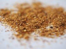 Chili Pepper (Capsicum) powder. Hot Chili Pepper (Capsicum) aka Chilli ground powder stock photos