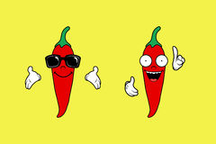 Chili Pepper. Clean Illustration of Chili pepper Stock Illustration