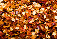 Chili Pepper Flakes Royalty Free Stock Image