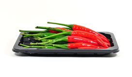 Chili pepper isolated. Stock Photos