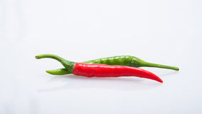 Chili pepper isolated on a white background Stock Images