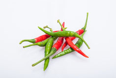 Chili pepper isolated on a white background Royalty Free Stock Photography