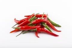 Chili pepper isolated. On white background Stock Image