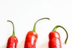 Chili pepper on light background, macro shot Royalty Free Stock Image