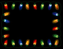 Chili Pepper Lights, Multicolored Royalty Free Stock Photos