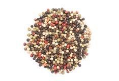 Chili Pepper Mix Isolated colorato Immagine Stock