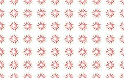 Chili pepper pattern stacked in a circle infinite spice pattern. Background Royalty Free Stock Photography