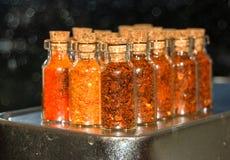 Chili Pepper Powder Royaltyfri Bild