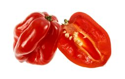 Free Chili Pepper Red Habanero Stock Images - 116566214