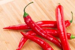 Chili Pepper rojo Fotografía de archivo