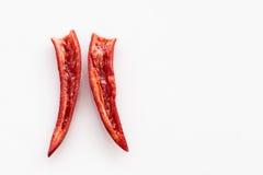 Chili Pepper rojo Fotografía de archivo libre de regalías
