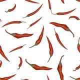 Chili Pepper rosso illustrazione vettoriale