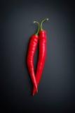 Chili Pepper rouge images libres de droits
