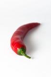 Chili pepper stem. On a white background Stock Photo