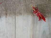 Chili Pepper vermelho Foto de Stock