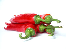 Chili Peppers. Red Hot Chili Peppers Royalty Free Stock Photo