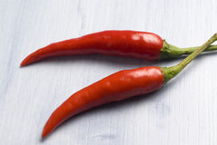 Chili peppers. Royalty Free Stock Image