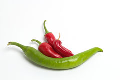 Chili Peppers Stock Photos