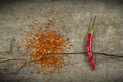 Chili Peppers Image libre de droits
