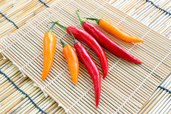 Chili Peppers Fotografia de Stock Royalty Free