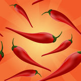 Chili peppers background Royalty Free Stock Photography