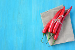 Chili peppers. Royalty Free Stock Photos