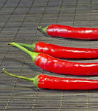 Chili Peppers candente fotos de archivo