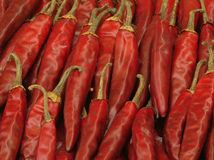 Chili peppers closeup Royalty Free Stock Photos