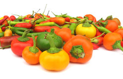 Chili peppers paprika Royalty Free Stock Images
