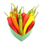 Chili peppers paprika royalty free stock photography
