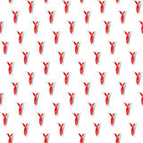 Chili peppers pattern Royalty Free Stock Photos