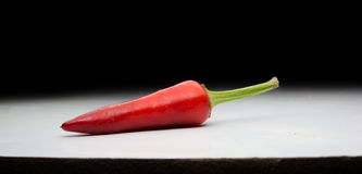 Chili peppers. red and be very hot! Stock Photography