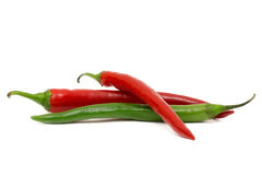 Chili Peppers Royalty Free Stock Photos
