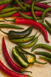 Chili peppers Stock Images