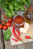 Chili pesto Royalty Free Stock Image