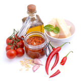 Chili pesto Stock Images