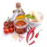 Chili pesto Stock Images