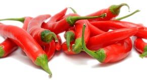chili pieprze Zdjęcia Stock