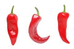 chili pieprze Obrazy Royalty Free