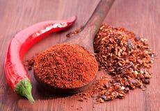 chili pieprzu czerwieni cukierki Zdjęcia Royalty Free